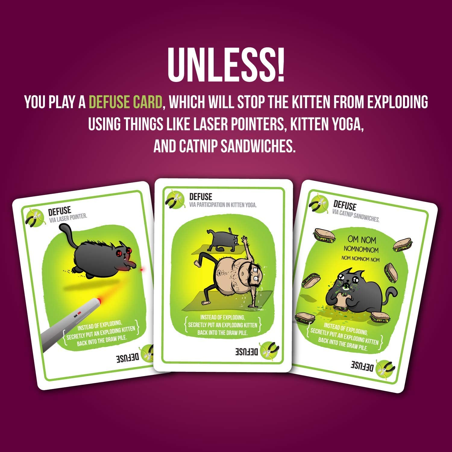 exploding kittens card game  familyfriendly party games