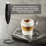Original Milk Frother Handheld Foam Maker for Lattes - Whisk Drink Mixer for Bulletproof Coffee