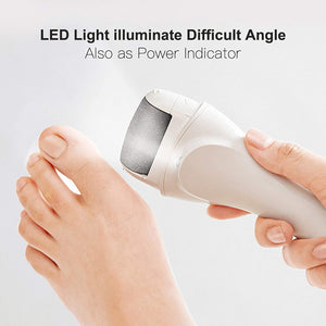 Electric Feet Callus Removers Rechargeable,Portable Electronic Foot File Pedicure Tools Professional Pedi Feet Care Perfect for Dead,Hard Cracked Dry Skin Ideal Gift