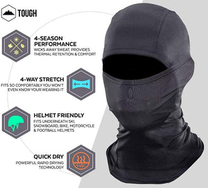 Balaclava Ski Mask - Cold Weather Face Mask for Men & Women - Snow Gear for Skiing, Snowboarding & Motorcycle Riding