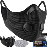 M Plus Face Cover with Active Carbon Filter Combo Kit