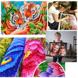 Painting Flower DIY Diamond Painting