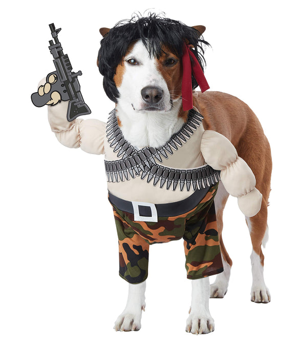 California Costumes Action Hero Dog Costumes, Pet, Multi, Large