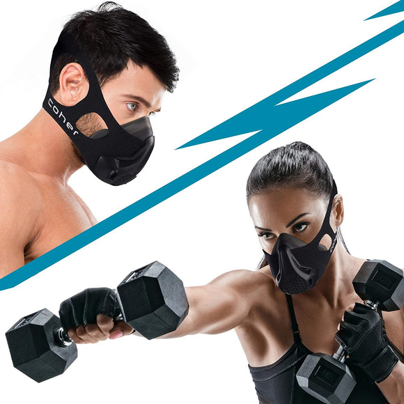 Training Mask Workout Breathing Mask for Men and Women