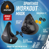 Workout Mask - for Gym, Cardio, Fitness, Running
