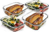 Glass Food Storage/Baking Containers Set with Locking Lids Airtight Glass Container