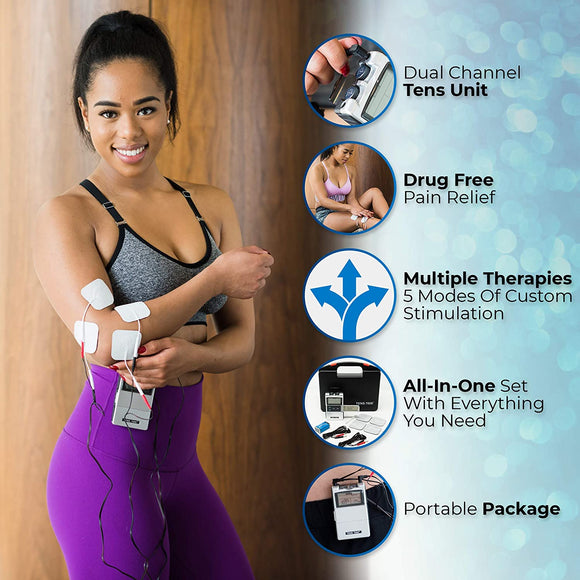 2nd Edition Digital TENS Unit with Accessories