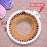 Knitting Machine, Kids Knitting Board Rotating Double Knit Loom Machine Kits