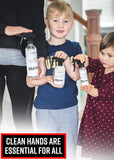 Adam's Hand Sanitizer 8oz - USA Made Hand Sanitizing Spray | 75% Isopropyl Alcohol by Volume, Formulated in Accordance with WHO Recommendations | Fast Acting Antiseptic Disinfectant (8oz)