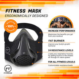 Workout Mask | 24 Breathing Resistance Levels - Fitness Mask
