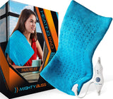 Large Electric Heating Pad for Back Pain and Cramps Hot Heated Pad