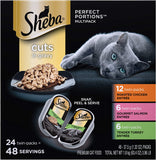 Portions Cuts in Gravy Wet Cat Food Tray Variety Packs