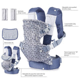 Infantino Flip 4-in-1 Carrier - Ergonomic, Convertible, face-in and face-Out