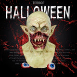 Cosmask Halloween Bloody Scary Masks Adult Zombie Monster Vampire Mask Latex Costume Party Full Head Mask
