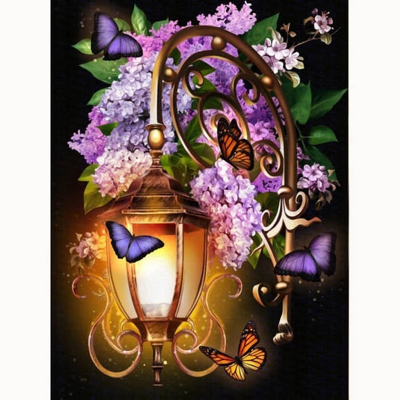 Lavender Night DIY Diamond Painting