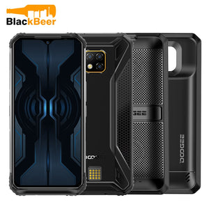 "DOOGEE S95 Pro 6.3"" 1080*2160 Rugged Smartphone IP68 MTK Helio P90 Mobile Phone 8GB 128GB Cellphone 48MP AL Triple Cameras"