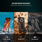 DOOGEE S96 Pro Waterproof Rugged Phone 48MP Round Quad Camera 20MP Infrared Night Vision Helio G90 Octa Core 8GB+128GB 6350mAh