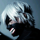 Anime Tokyo Ghoul Kaneki Ken Cosplay Costumes Mask Halloween Party Masks Cosplay