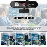2K 4K Conference PC Webcam Autofocus USB Web Camera Laptop Desktop For Office Meeting Home With Mic 1080P HD Web Cam