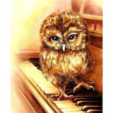 Owls on the Piano DIY Diamond Painting