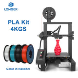 "LONGER LK4 Pro FDM 3D Printer Open Source 4.3"" Full Color Touch Screen Full Metal Big Size High Precision 3D Drucker"