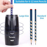 Large Automatic Electric Pencil Sharpener Heavy Duty Stationery For Colored Pencils Mechanical USB For Children Artists