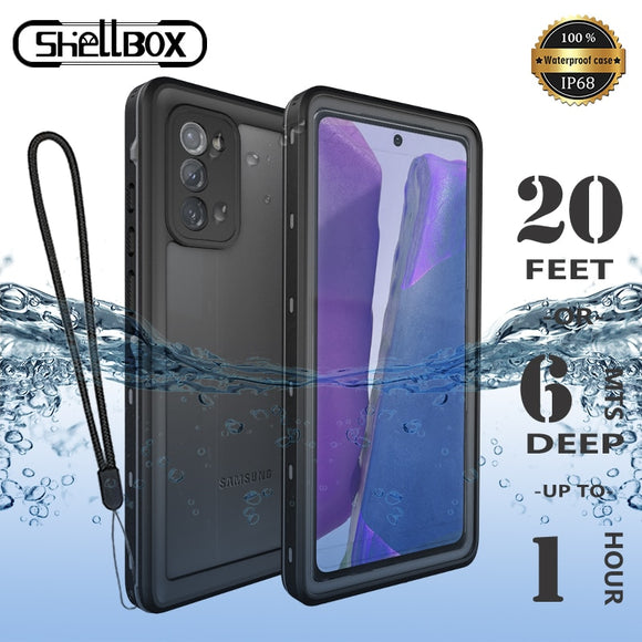 Waterproof Phone Case for Samsung S20 Ultra