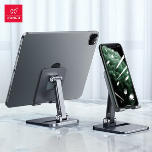 Tablet Stands For iPad Pro Case Adjustable Foldable Height Angle Phone Holder For Xiaomi iPhone Huawei Samsung Honor Case