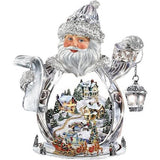 Crystal Santa Claus