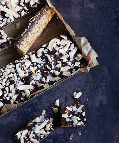 Chocolate & Coconut Flapjack
