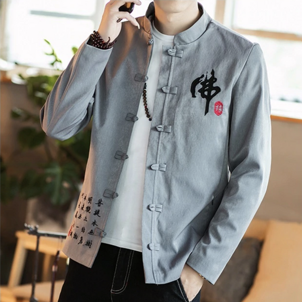 Honshi Traditional Linen Jacket