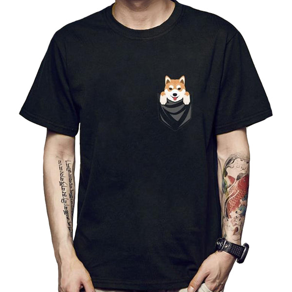 Kawaii Pocket Pup Shirt