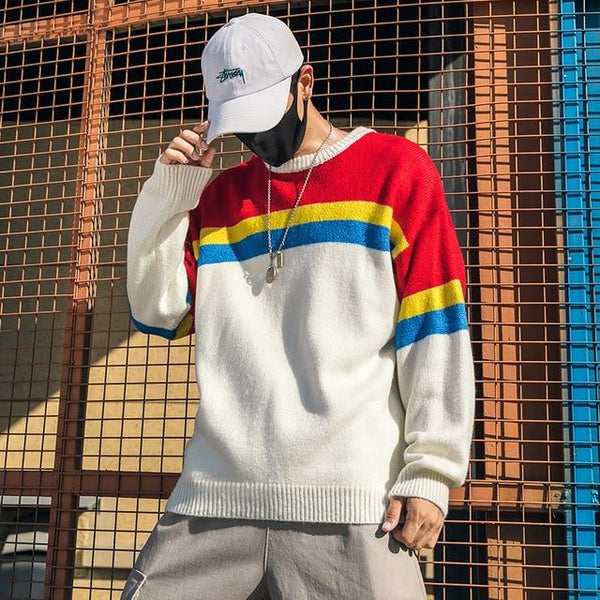 Shikiso Rainbow Wool Sweater
