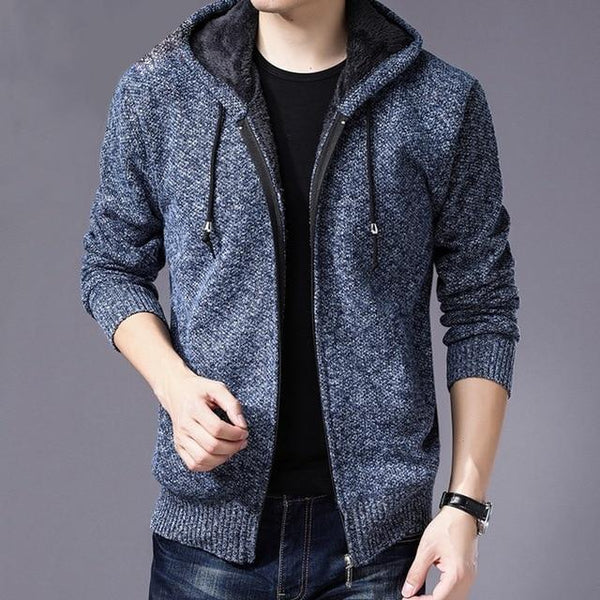 Sensai Wool Full-Zip Sweater