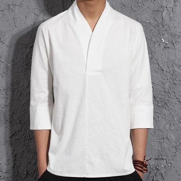 Mentsu Men's Linen Shirt