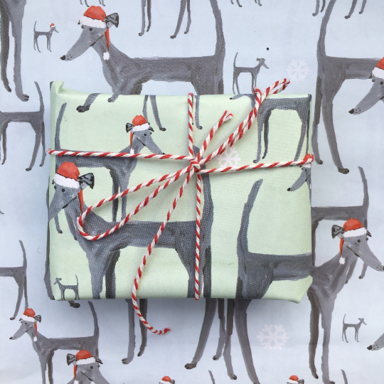 Limited edition Christmas wrapping paper