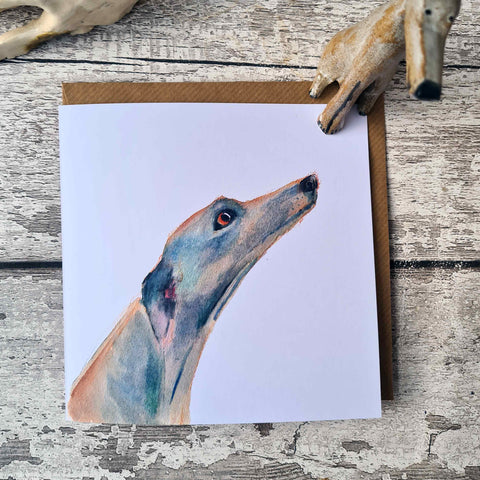Greyhound and lurcher card, set of 3, set of 6