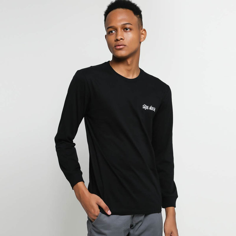 ARCHI HITAM LONG SLEEVE BLACK - SATOE NOESA
