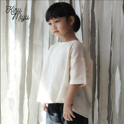 Reissue Cotton Boxy Top - Kinumiyu