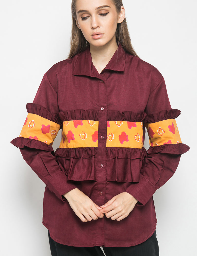 CHERRY POP LONG SHIRT - SHOCKS
