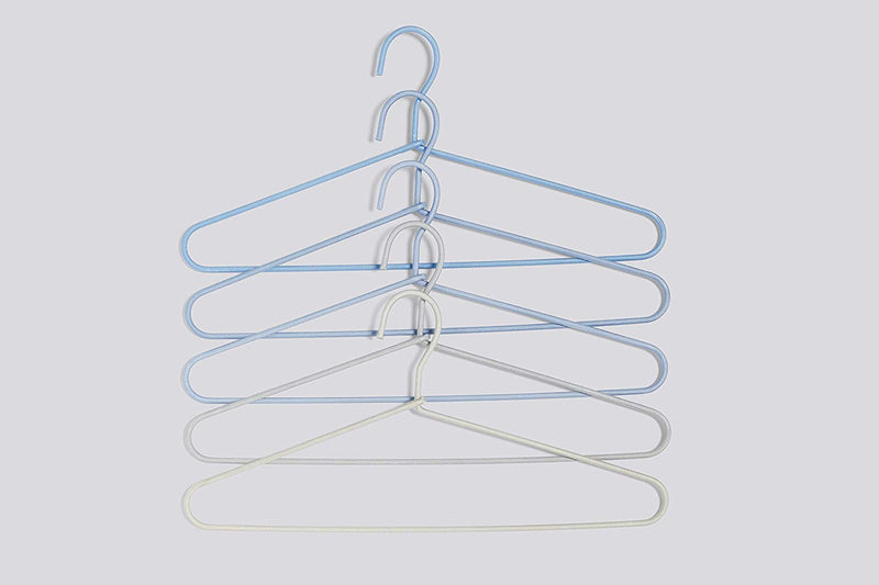 CORD HANGER FADE SET OF 5 LIGHT BLUE - HAY