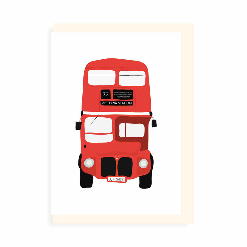 Chléa Paperie London Double Decker Card