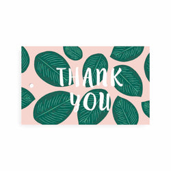 PALM LEAF THANK YOU GIFT TAG - CHLEA PAPERIE