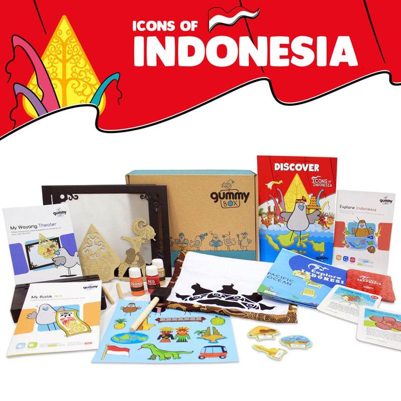 Icons Of Indonesia Standard Box – GUMMY BOX