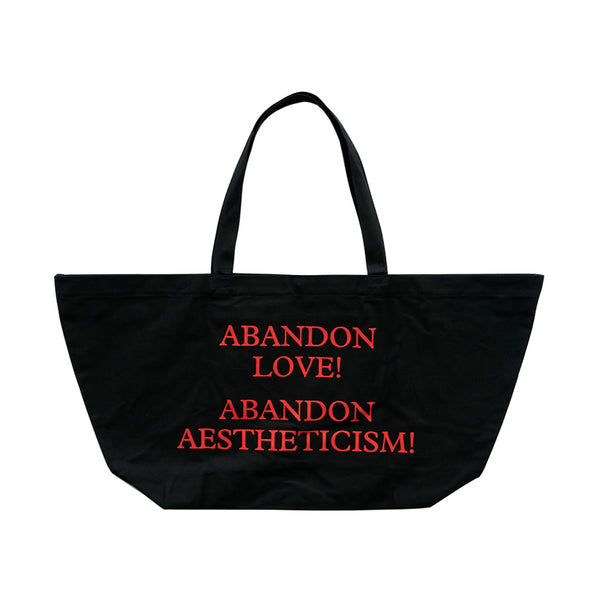 Manifesto Abandon Love Oversized Bag