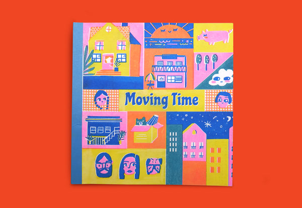 Moving Time by Martcelia Liunic - Binatang Press