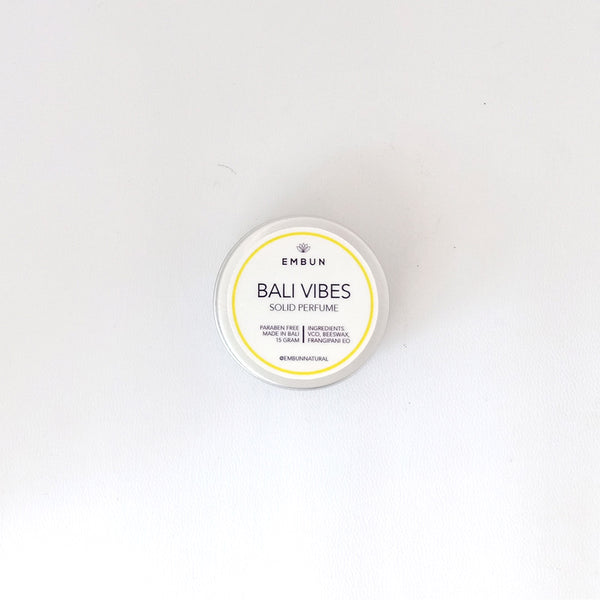 Solid Perfume - Embun Natural