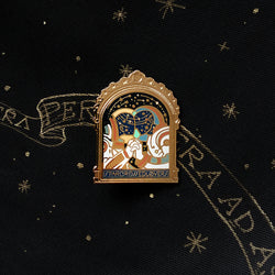 Star Crossed Lover Enamel Pin - Somethingstokeep