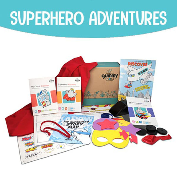 Superhero Adventures – GUMMY BOX