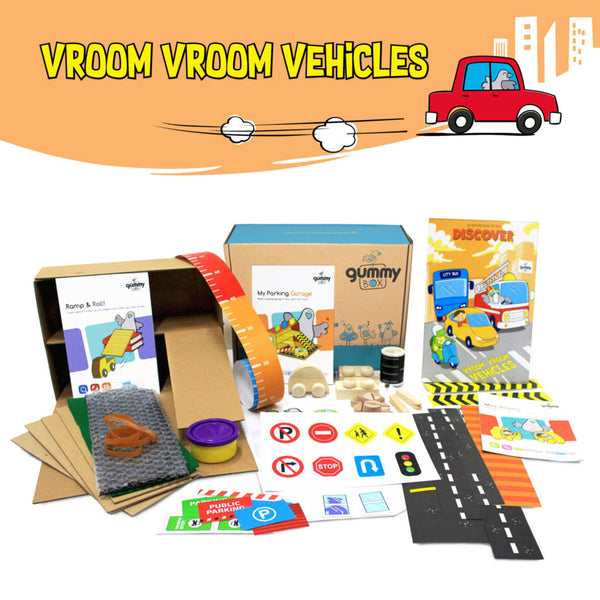 Vroom Vroom Vehicle – GUMMY BOX